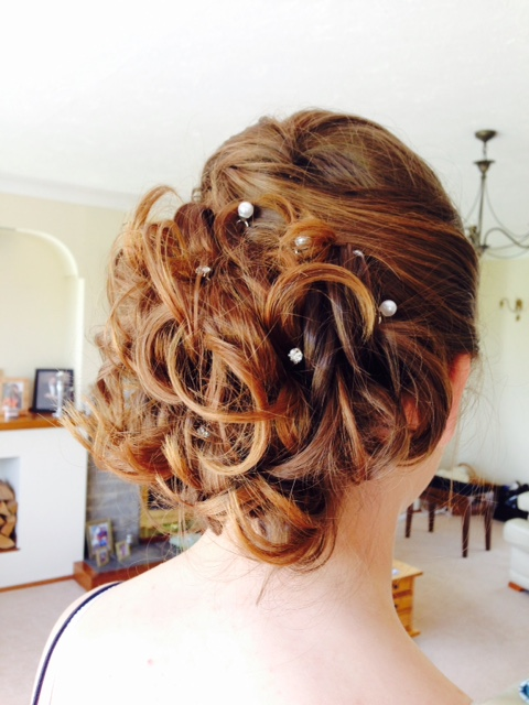 Prom and occasion hair, by Zoe