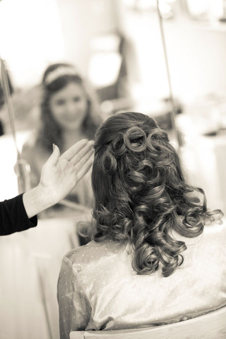 Wedding Hair by Zoe